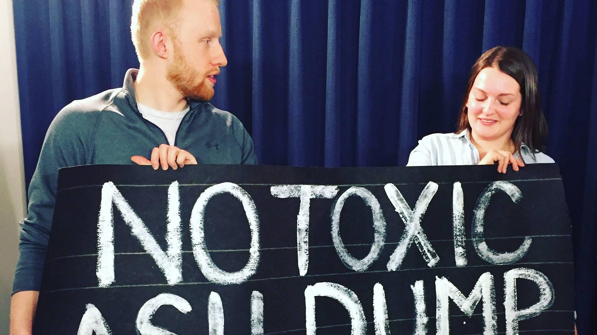 Environmental groups say 'no' to incinerator ash dump