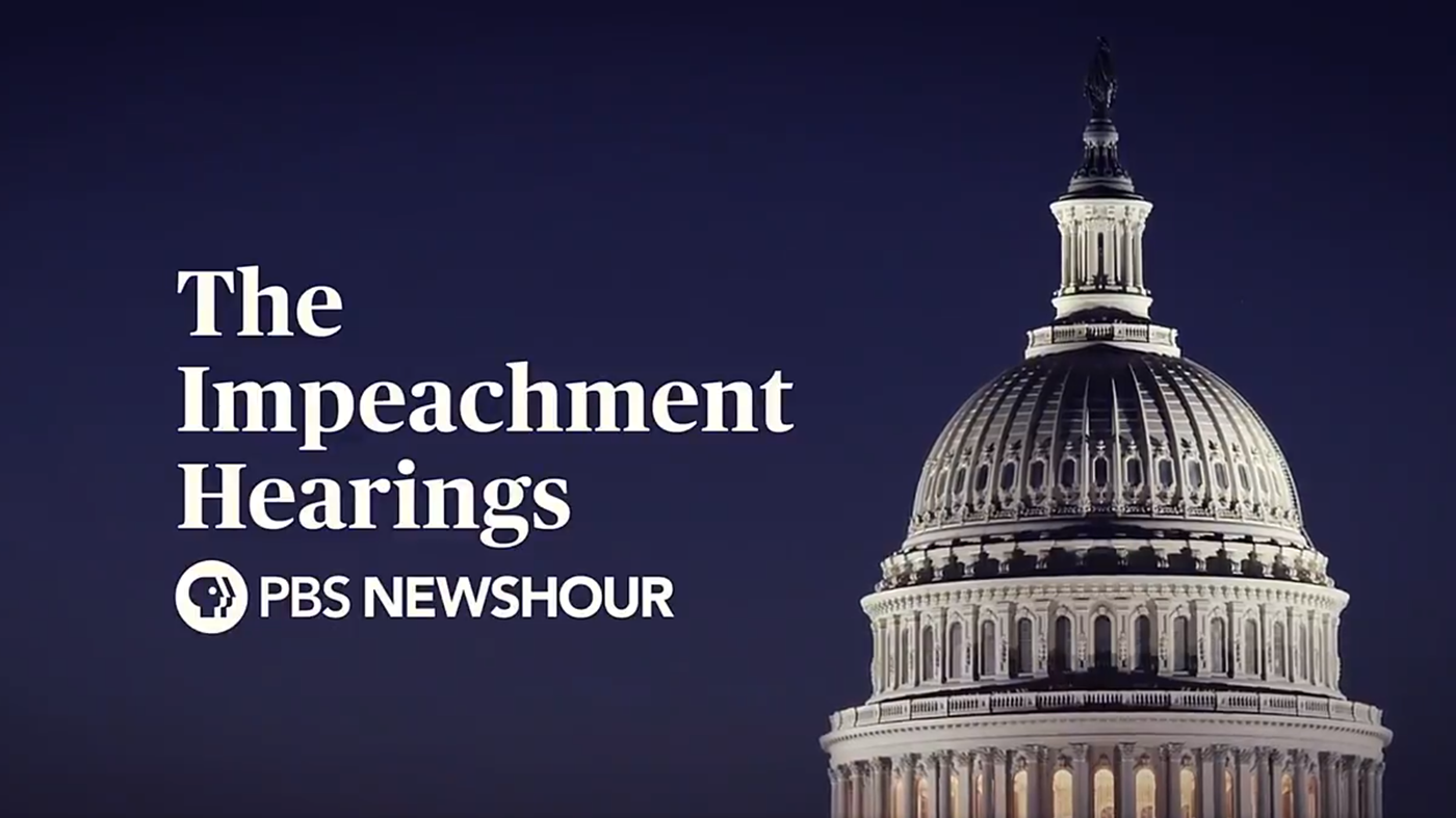 The Trump Impeachment Hearings – Day 1