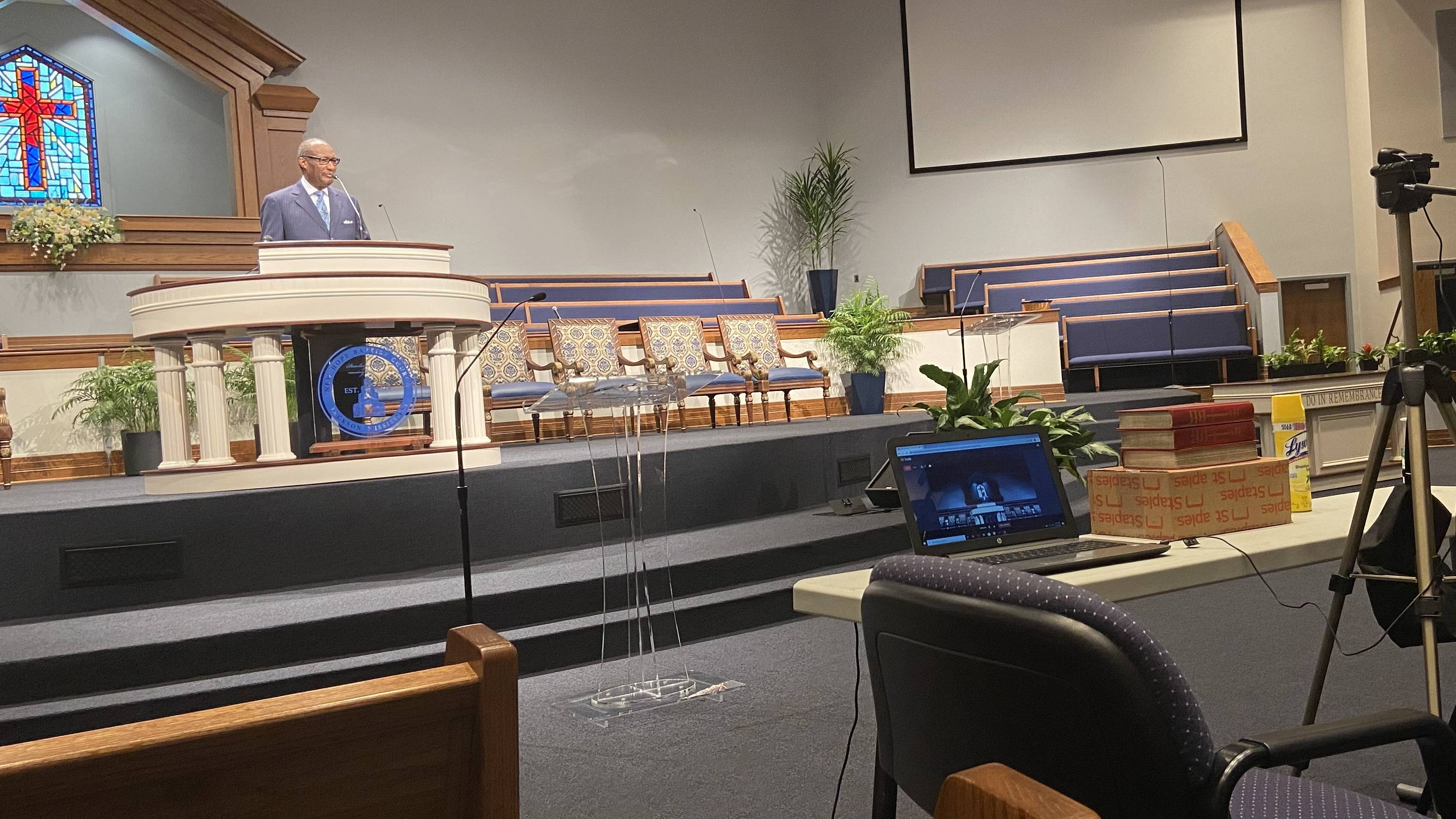 Churches in Miss. move Sunday Services online to combat COVID-19