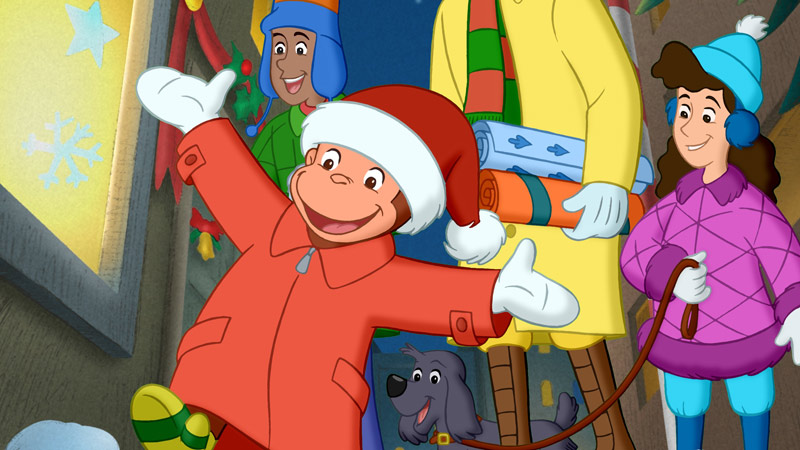 Curious George Christmas.Celebrate The Holidays With Pbs Pbs