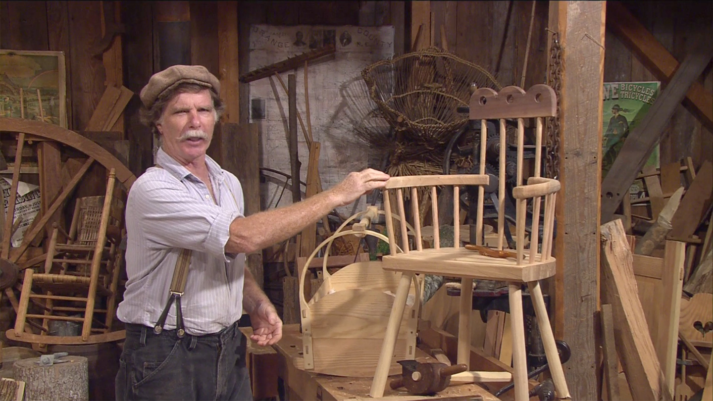Roy in His Workshop