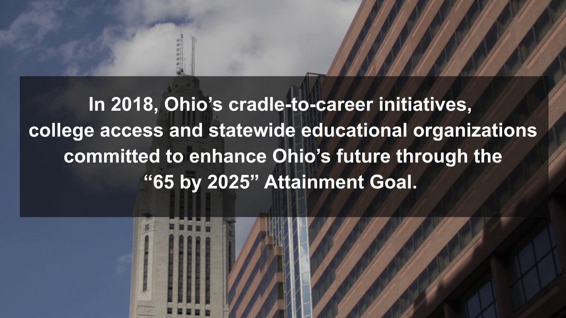 65 by 2025 Attainment Goal