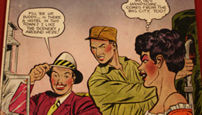 Race, Romance and the Comic Book