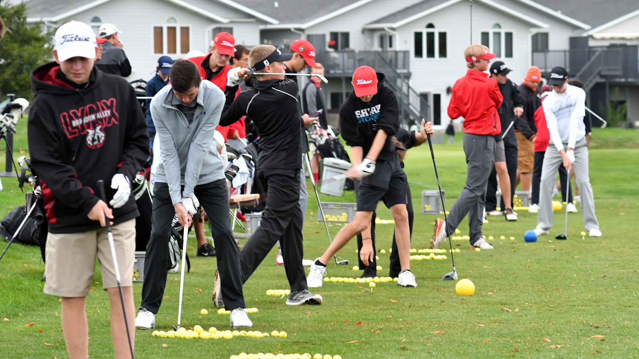 2017 Class AA Golf Photos
