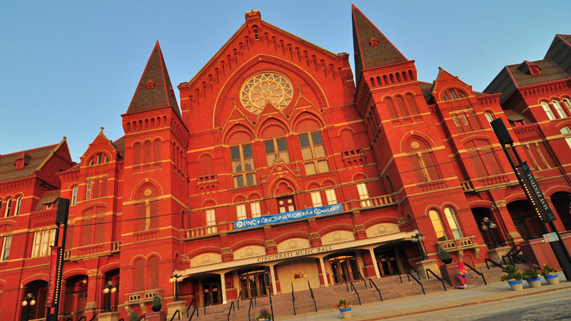 Music Hall: Cincinnati Finds Its Voice