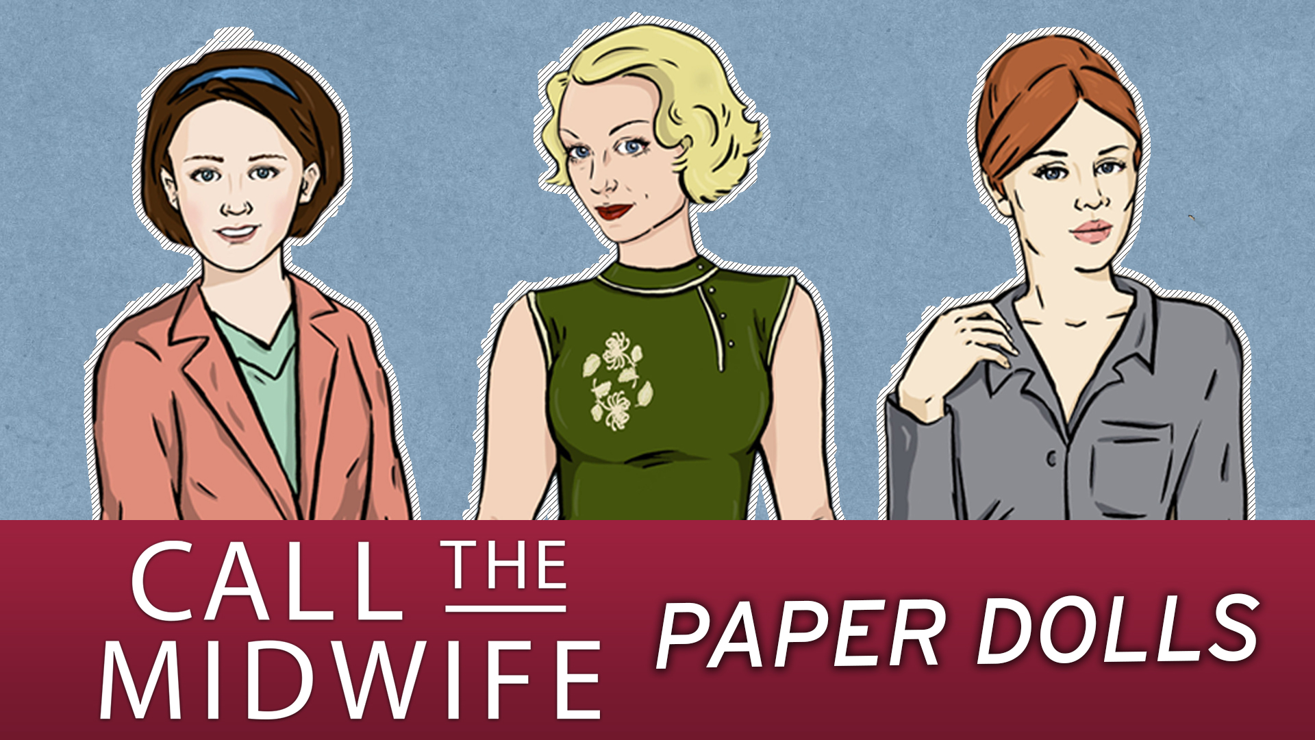 Collect our Trixie Paper Doll