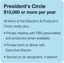 WUCF President's Circle