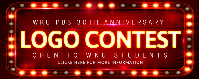 WKU PBS 30th Anniversary Logo Contest, Open to WKU Students, Click for more information