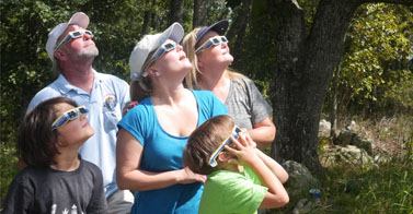 Eclipse Viewers Gather At Kennesaw Mountain National Battlefield Park
