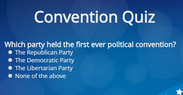 Take the Convention Quiz