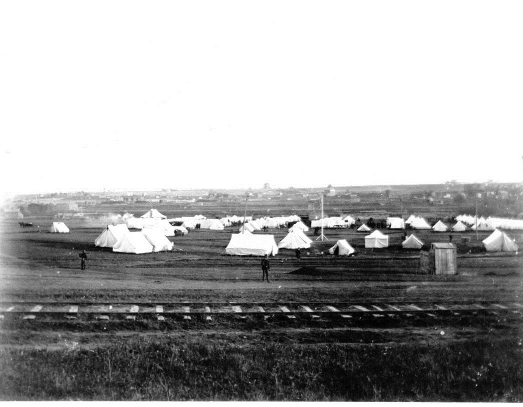 Camp Dewey looking South from 10th Street