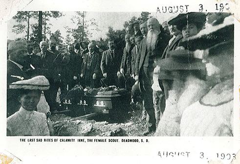 Calamity Jane Funeral photo