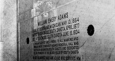 Adams Mausoleum