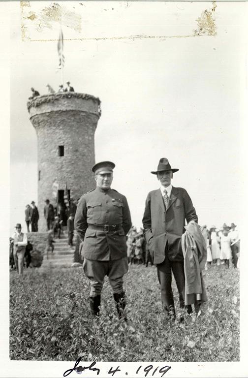 bullock at tower