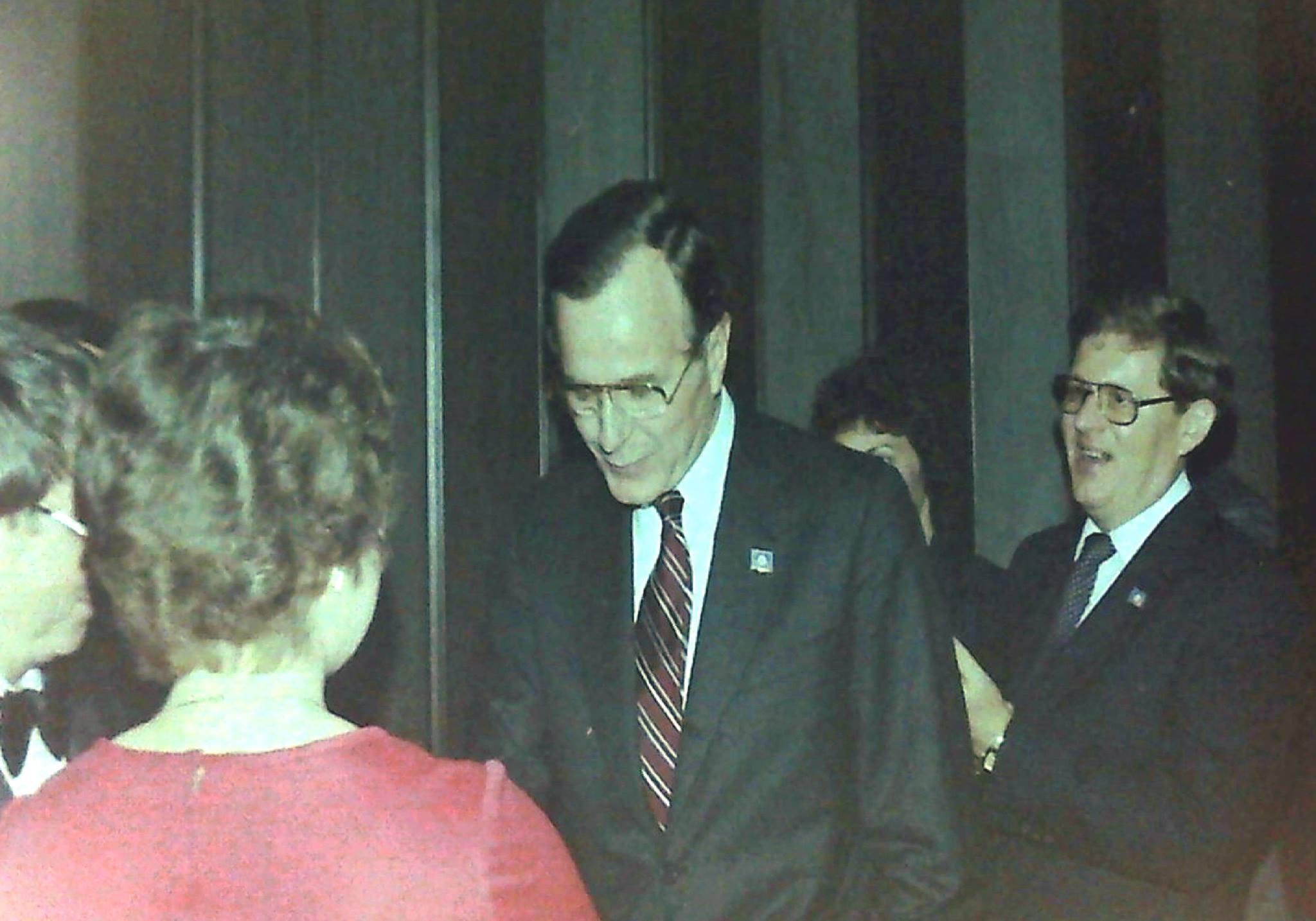 G.H.W. Bush in South Dakota