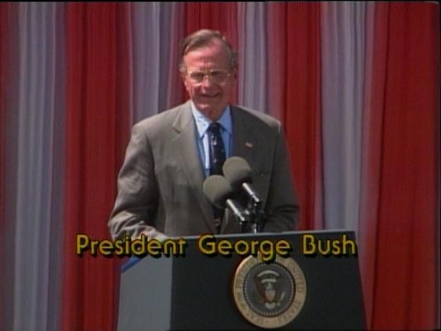 Bush 41 at Mt Rushmore