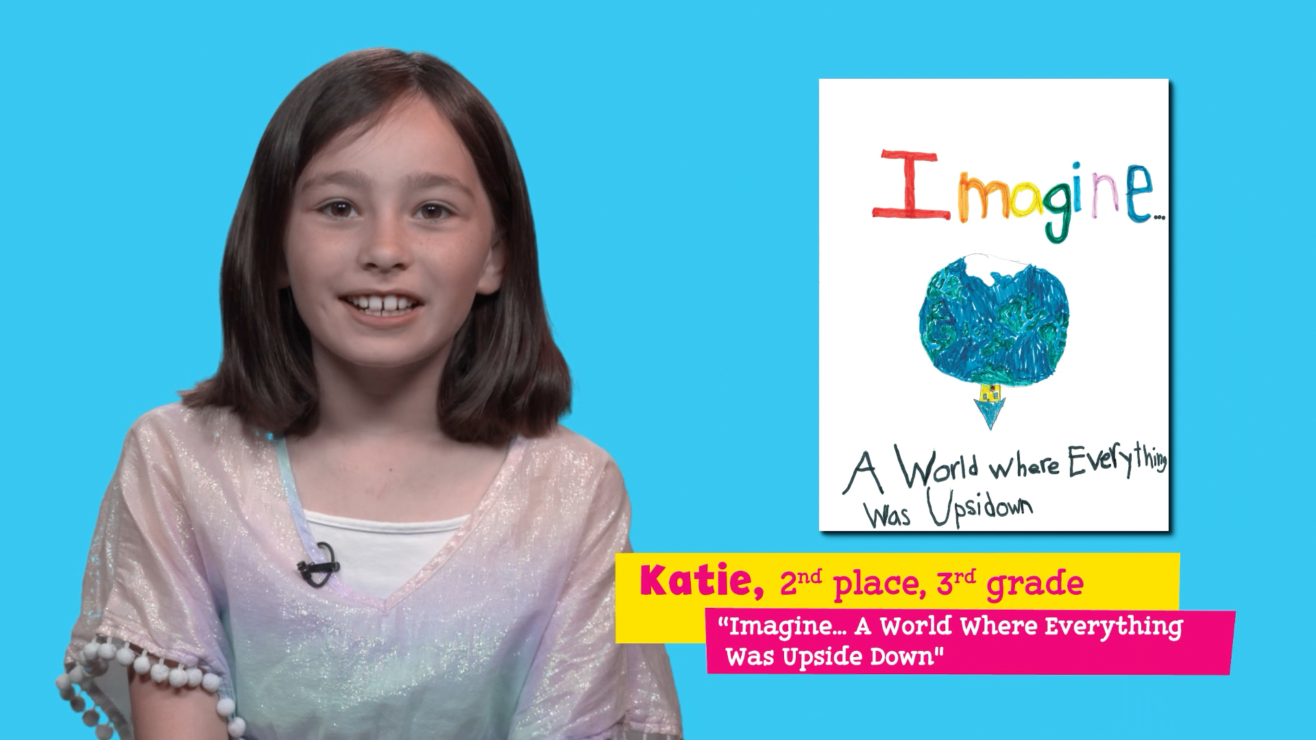 """Featuring """"Imagine… A World Where Everything Was Upside Down"""" by Katie"""