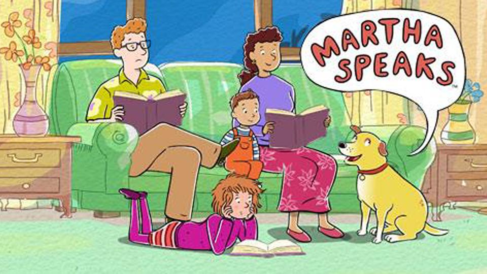 MARTHA SPEAKS Reading Buddies
