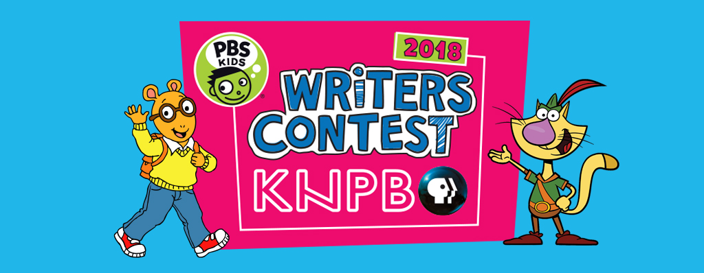 Writers Contest Logo with Arthur