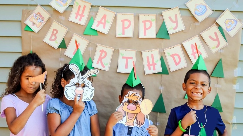 Nature Cat Themed Birthday Party