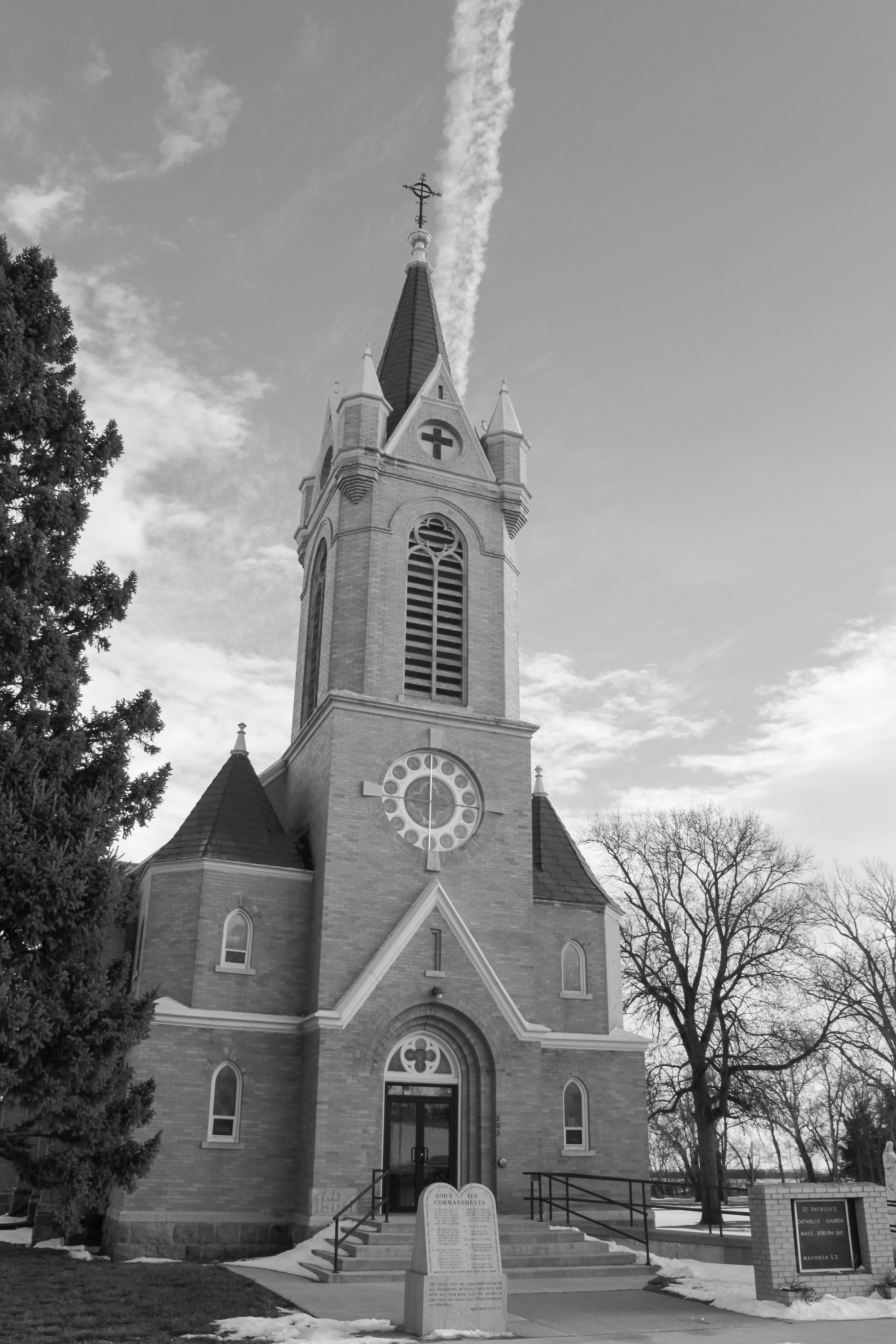 St. Patrick's Catholic Church in Wakonda.