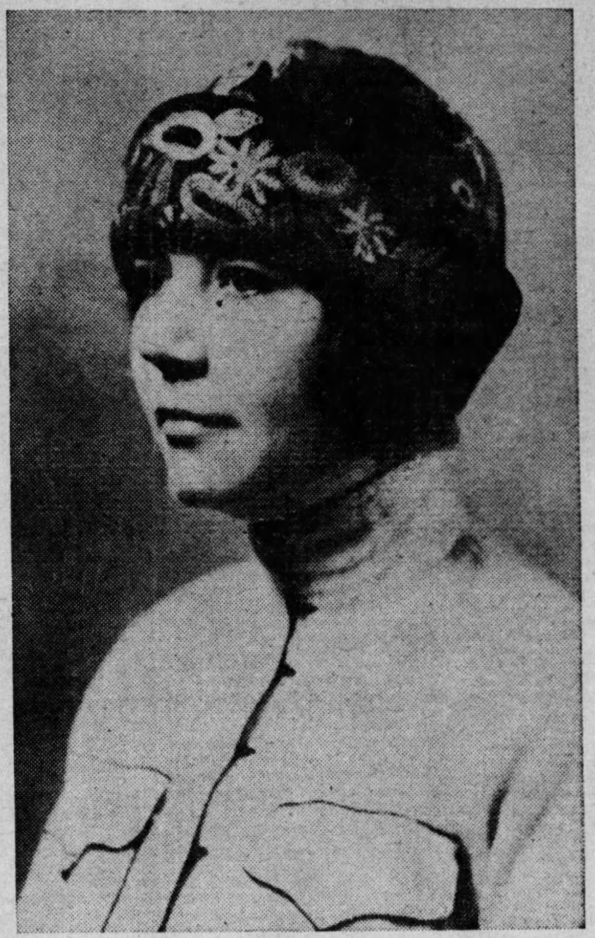 Rose Wilder Lane in Europe, 1925.