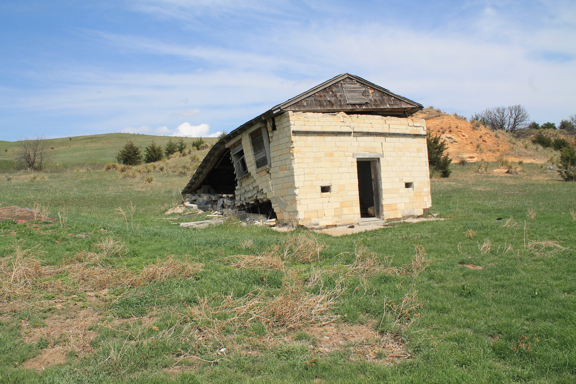 One of the cabins at Chalk Rock.