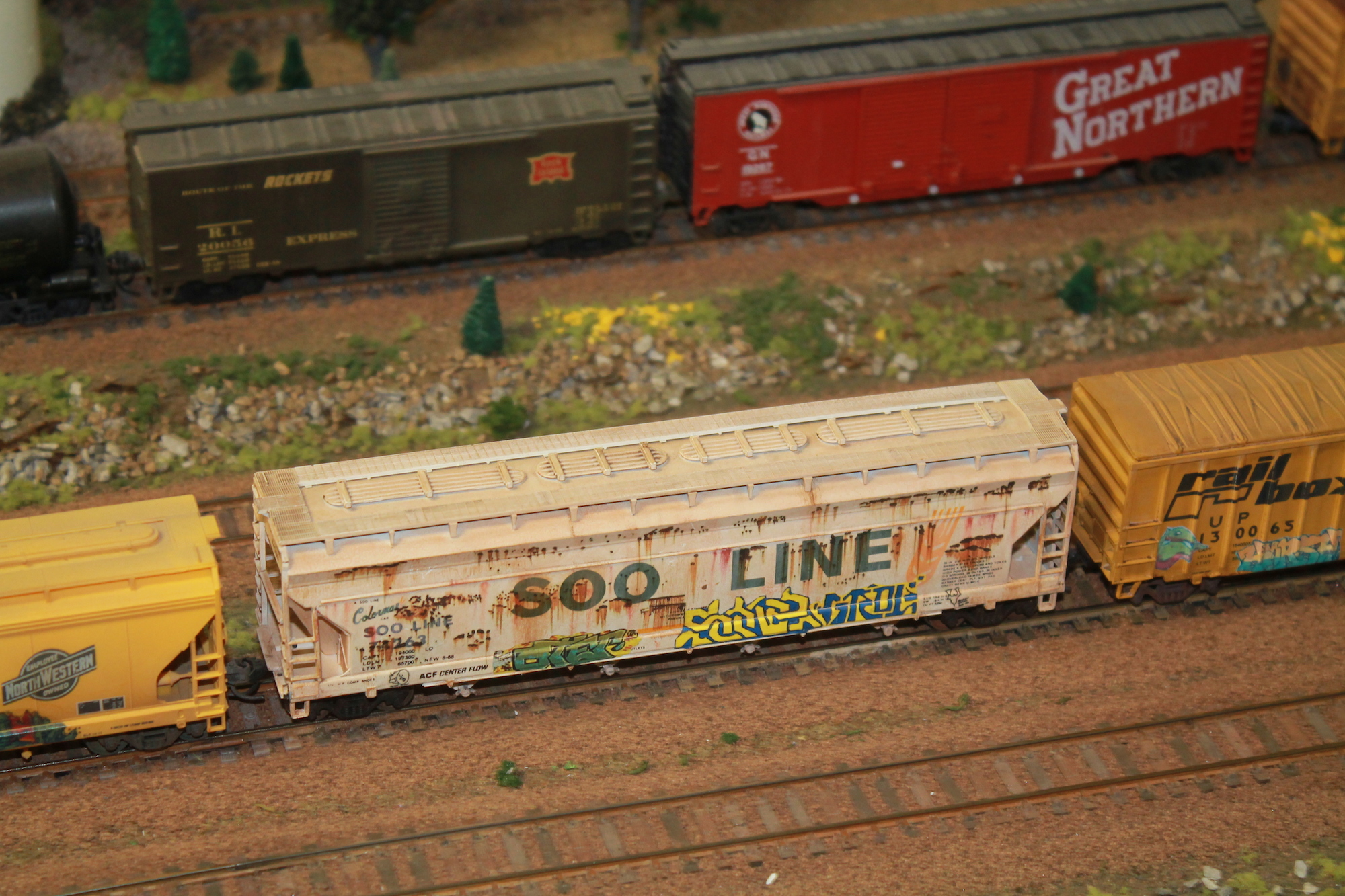 Train models by Charlie Davis.