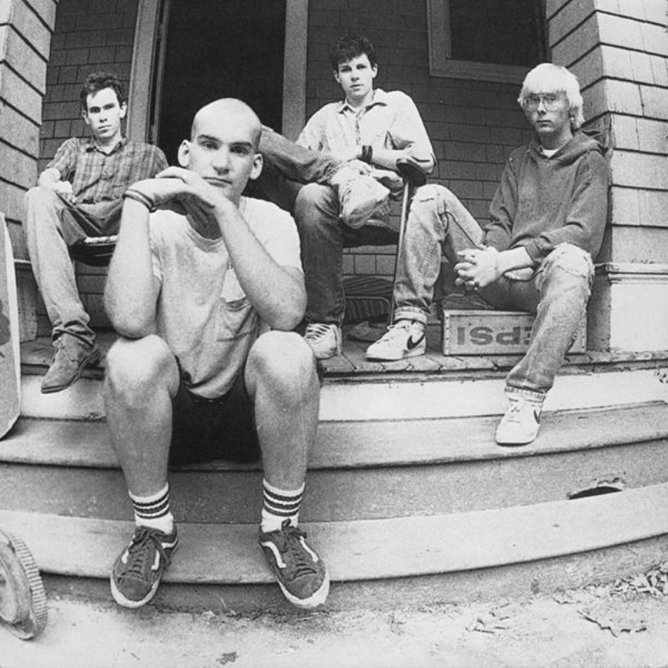 Ian MacKaye's tube socks were part of certain youths' mental inventory.
