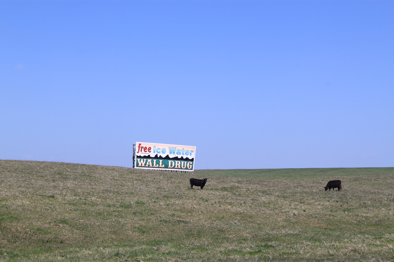 Wall Drug: Free Ice Water Sign