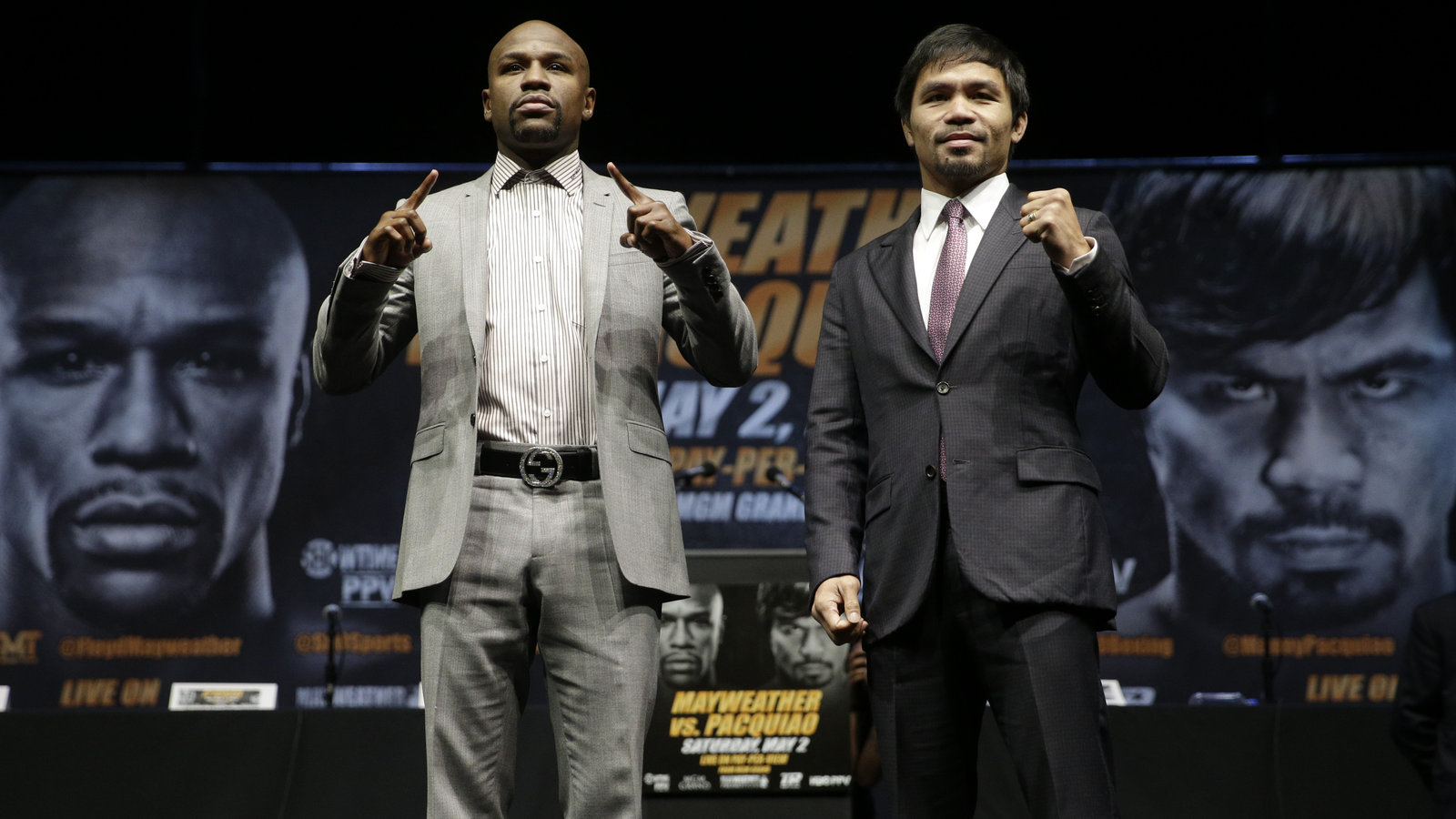 Mayweather, Pacquiao Will Brawl For Boxing's Richest Purse Ever