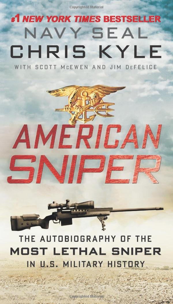 DBW E-Book Bestsellers: 'American Sniper' Hits E-Book Best-Seller List Twice