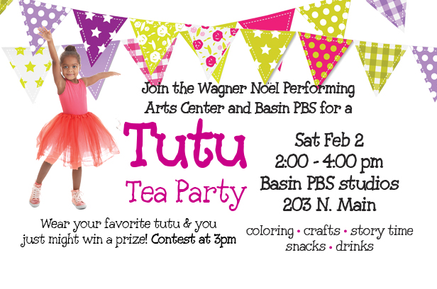 Tutu Tea Party!