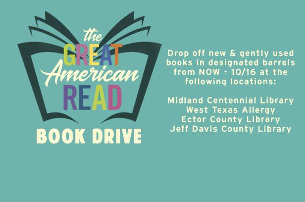 Great American Read Book Drive