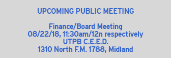 Next Board Meeting 6/22/18