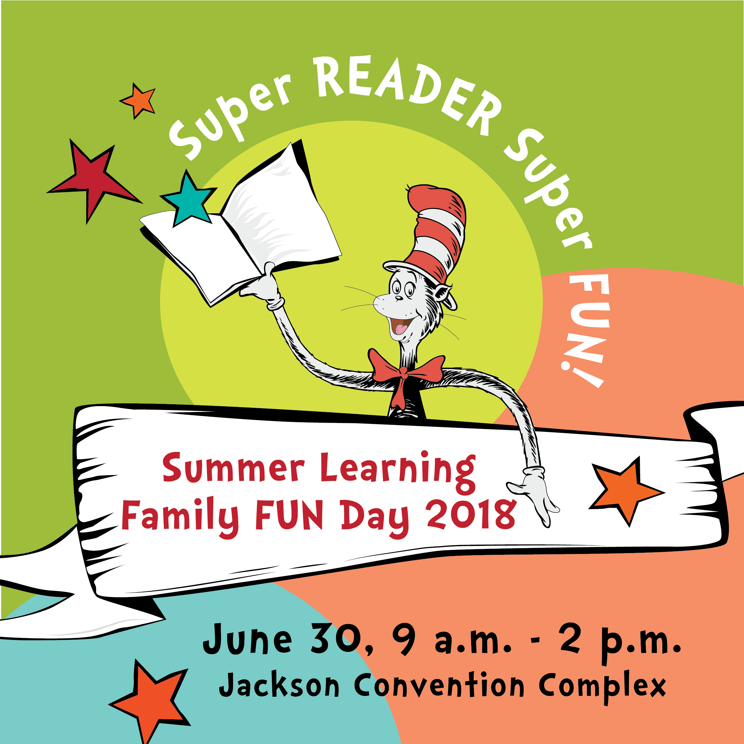 Register now for the 2018 Summer Learning Family Fun Day!