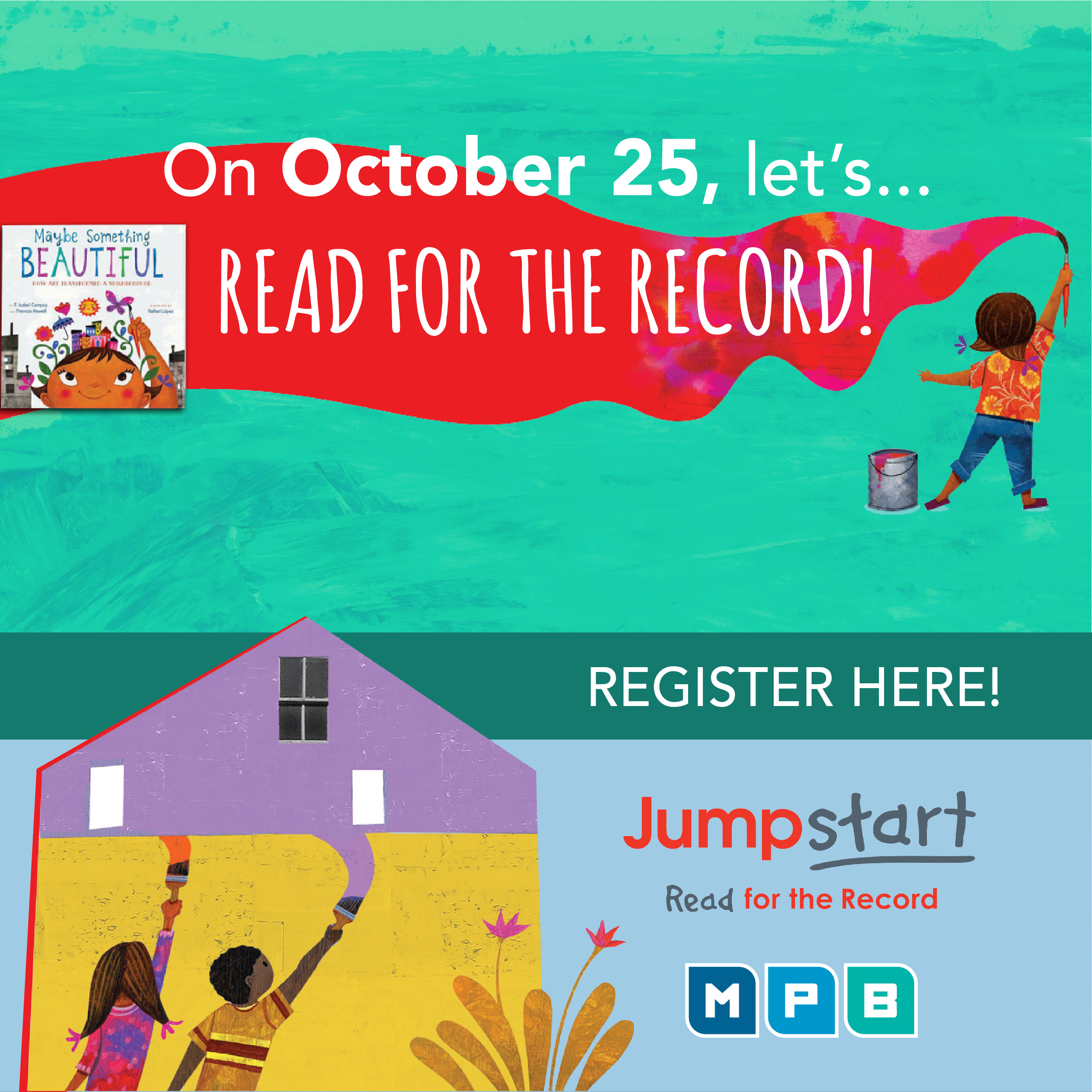 Register now to Read for The Record with MPB!