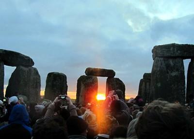 Felder at Stonehenge