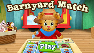 Daniel Tiger Game: Barnyard Match