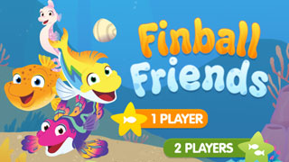 Splash & Bubbles Game: Finball Friends