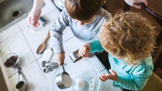Kitchen Math: How Mealtime Can Support Kids' Number Sense
