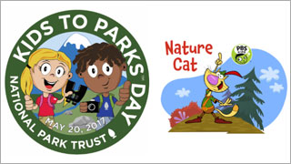 Kids to Parks Day with Nature Cat