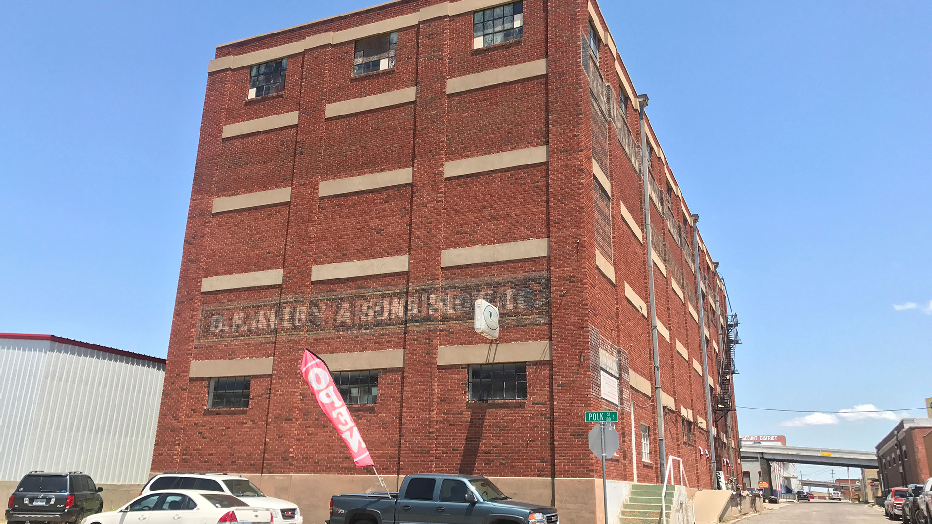 Historical warehouse active again