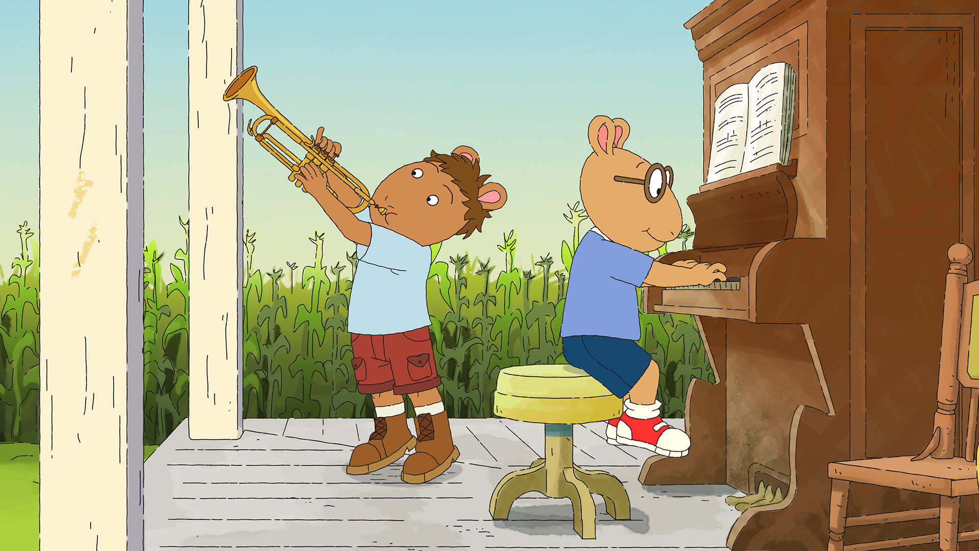 Arthur finds the rhythm in his roots