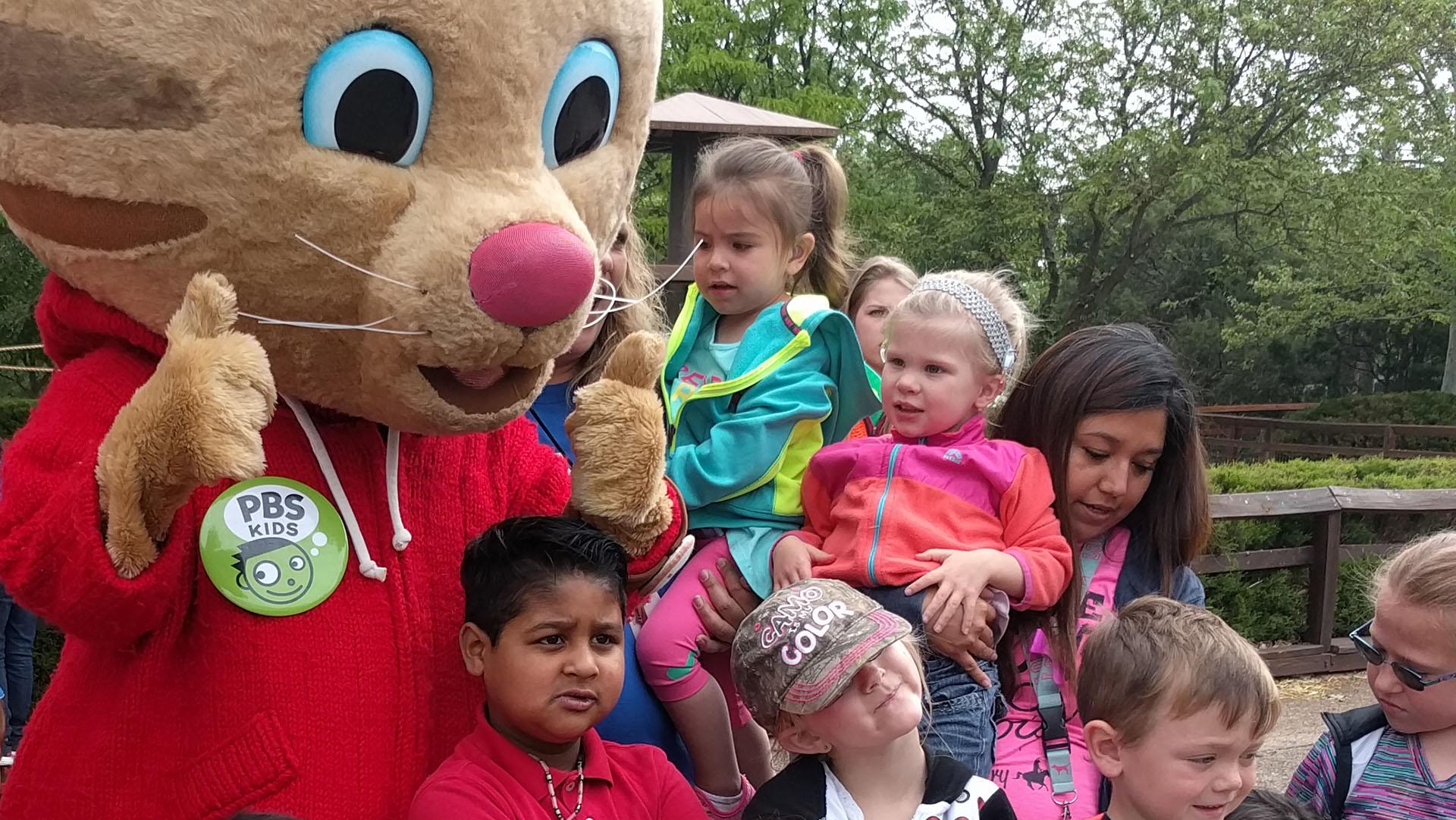 Daniel Tiger to visit Amarillo-area children in October