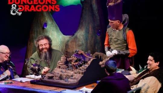 "Fathom Events will screen a live ""Dungeons and Dragons"" championship match."