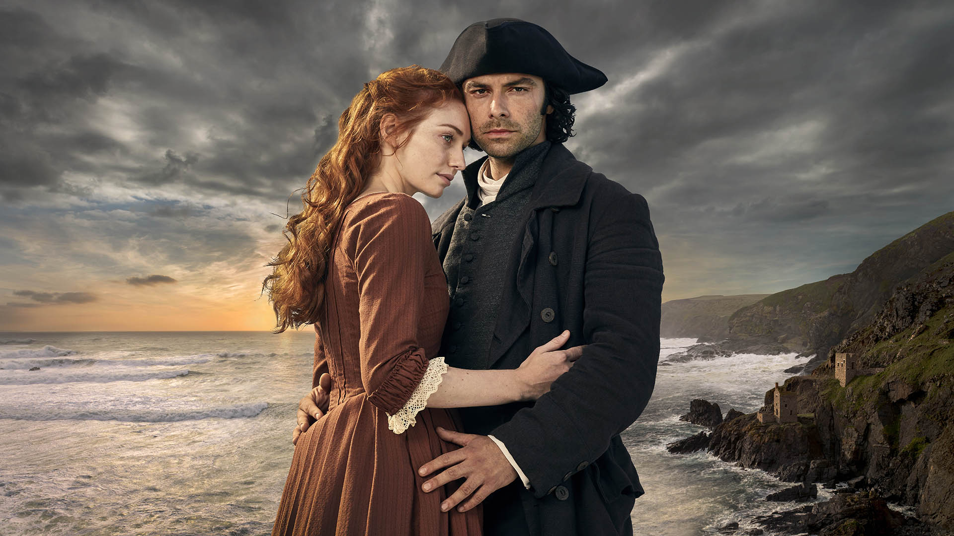 'Poldark' returns for a new season of action, intrigue
