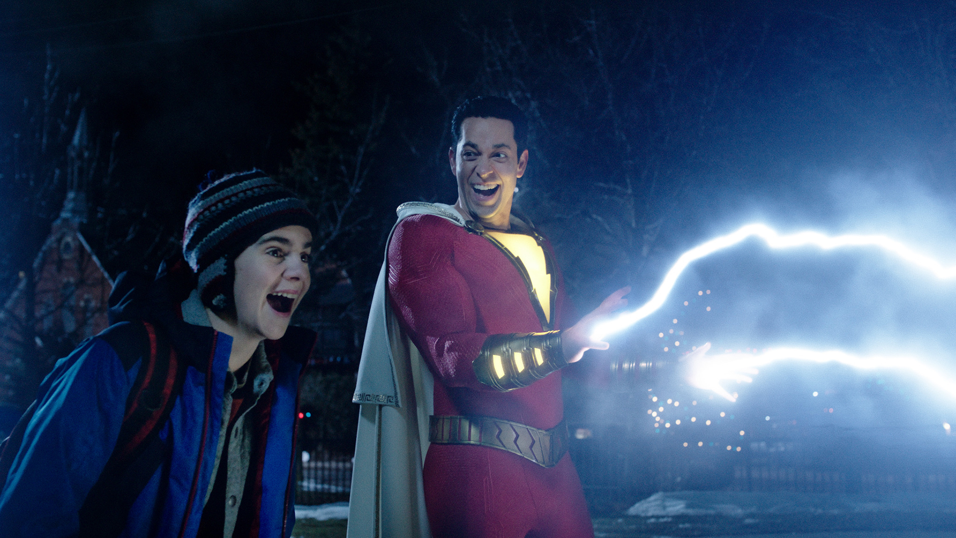 Review: Like a bolt of lightning, 'Shazam!' pops and sparkles