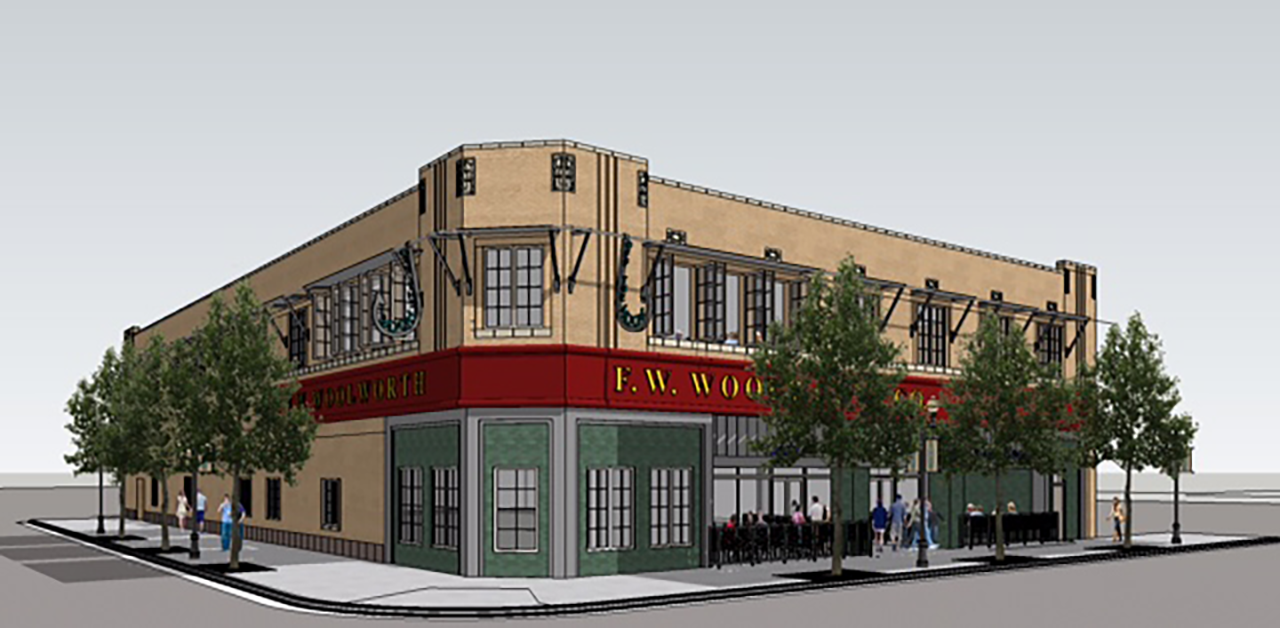 Woolworth downtown to get 2 restaurants