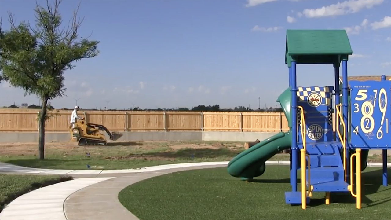 Happy State Bank funds Hagy Center playground